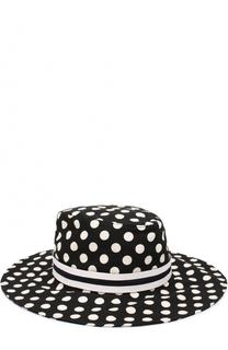 Шляпа с принтом Dolce & Gabbana