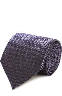 Шелковый галстук с узором Tom Ford