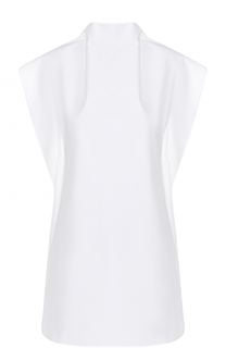 Хлопковое мини-платье асимметричного кроя Mm6
