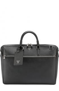 Кожаная сумка для ноутбука Serapian