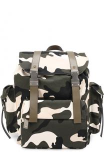 Рюкзак из текстиля с принтом Valentino