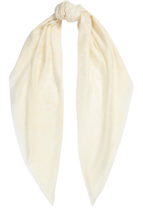 Шарф из смеси кашемира и шелка Valentino