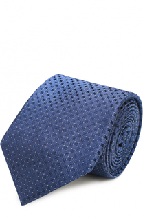 Шелковый галстук с узором Ralph Lauren