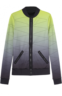 Спортивная куртка на молнии с эффектом деграде Ultracor