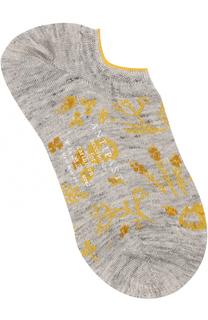 Льняные носки с принтом Antipast