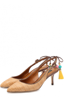 Плетеные туфли Bellucci с подвесками Dolce & Gabbana