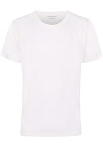 Хлопковая футболка с круглым вырезом Z Zegna
