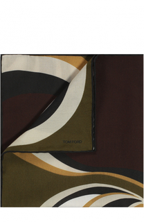 Платок из смеси хлопка и шелка Tom Ford