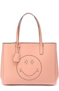 Сумка-шоппер Smiley Ebury Anya Hindmarch