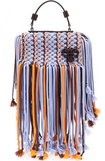 Сумка Pilot с декоративным плетением Emilio Pucci