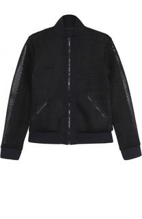 Перфорированная спортивная куртка на молнии Ultracor