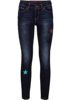 Узкие джинсы по щиколотку (синий) Bonprix