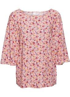 Блузка (цвет белой шерсти «1000 цветоч) Bonprix
