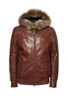 Куртка кожаная Grafinia