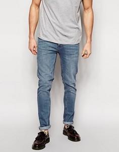 Темные облегающие джинсы Cheap Monday - Синий