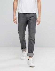 Серые выбеленные джинсы слим Blend Twister - Серый