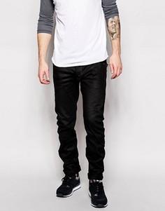 Черные джинсы слим G-Star Arc Zip 3D - Черный