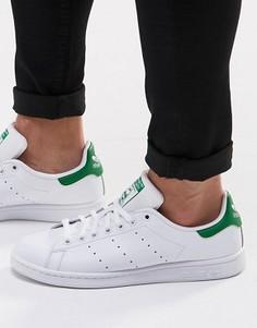 Кожаные кроссовки adidas Originals Stan Smith M20324 - Белый
