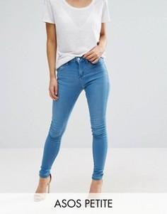 Синие джинсы ASOS PETITE Sculpt Me Premium - Синий