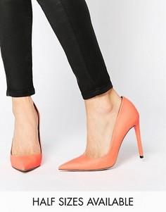 Туфли на каблуке с острым носком ASOS PLATINUM - Оранжевый