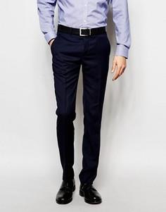 Однотонные брюки Ben Sherman - Темно-синий