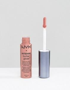 Масляный блеск для губ NYX Professional Make-Up Intense Butter Gloss - Розовый
