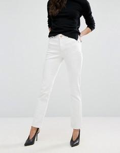 Прямые белые джинсы ASOS - Белый