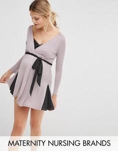 Халат для беременных и кормящих Cake Maternity & Nursing - Серый