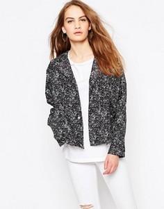 Легкая укороченная куртка Parka London - Черный
