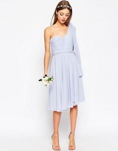 Сетчатое платье миди ASOS WEDDING - Мульти