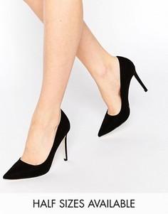 Туфли на высоком каблуке с острым носком ASOS PERU - Черный