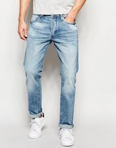 Прямые светлые джинсы Jack & Jones Intelligence - Синий