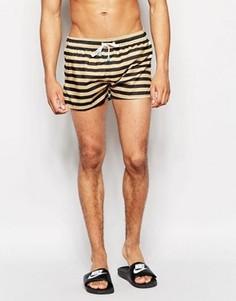 Короткие шорты для плавания Oiler & Boiler Champion - Черный