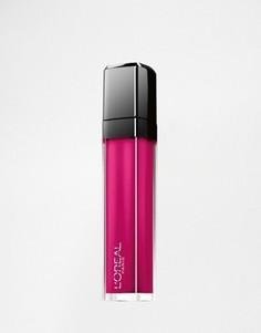 Блеск для губ LOreal Infalliable Mega - жидкая помада - Розовый Loreal