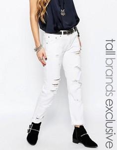 Рваные джинсы Glamorous Tall - Белый