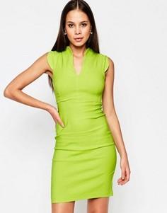 Платье миди Vesper Temperance - Зеленый