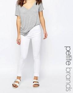Укороченные джинсы скинни Waven Petite Freya - Белый