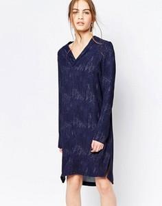 Цельнокройное платье Just Female Night Shimmer - Черный