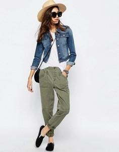 Повседневные брюки‑галифе ASOS - Зеленый