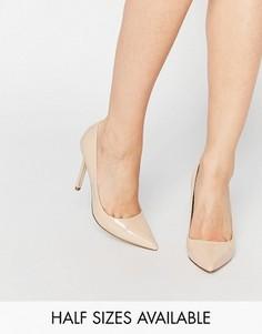 Туфли на высоком каблуке с острым носком ASOS PERU - Бежевый