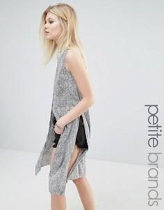 Платье-рубашка на пуговицах Noisy May Petite - Мульти