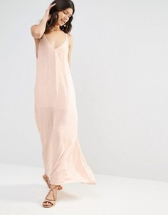 Платье макси с вышитыми стрелками Flynn Skye - Розовый