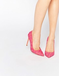 Туфли на высоком каблуке с острым носом ASOS PHILI - Розовый