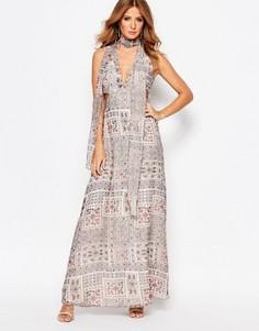 Платье макси с вырезами Millie Mackintosh - Мульти