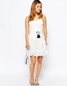 Кружевная юбка Sister Jane Parlay - Белый