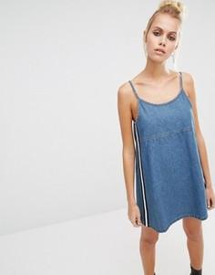 Джинсовое платье в стиле 90‑х UNIF - Синий