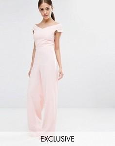Комбинезон с широкими штанинами Vesper - Розовый