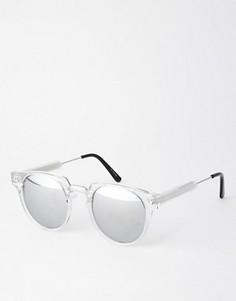 Солнцезащитные очки с зеркальными стеклами Spitfire Teddy Boy2 - Прозрачный