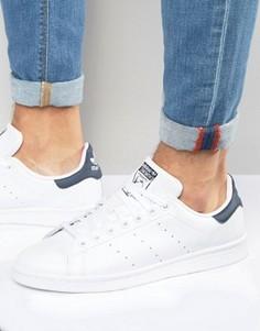 Кожаные кроссовки Adidas Originals Stan Smith M20325 - Белый