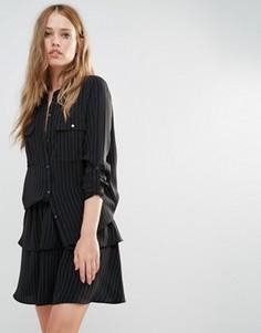 Рубашка Y.A.S Silla - Черный